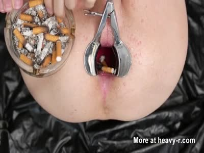 Anal Ashtray slave