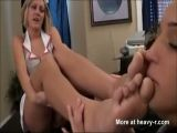 Nurse Foot Worshipping