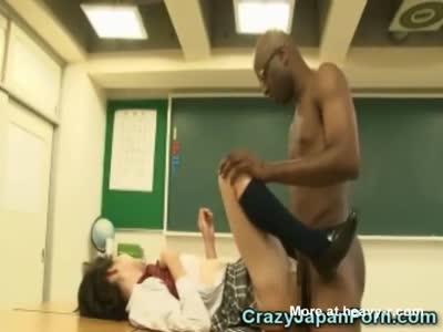 Hypnotized Schoolgirl Fucks BBC