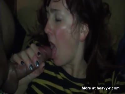 Student Gives Me A Blowjob