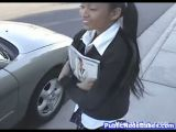 Little Asian School Girl Fucked For Money
