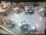 Violent Robber Shot Down