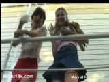 Young Teens Pissing Outdoor