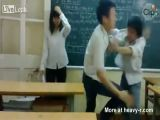 Kissing And Fighting In Classroom