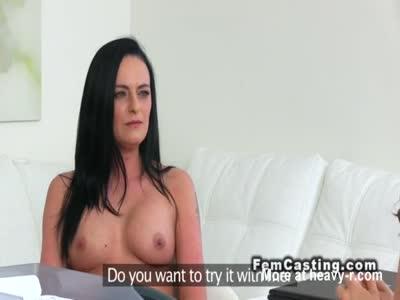 Lesbo Licks Female Agent