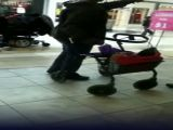 Black Bitch Beats Up Guy In Wheelchair