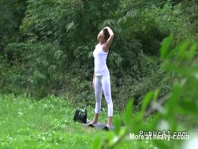 Fucking Hottie In Yoga Pants