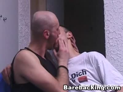 Naughty Sex of Two Gay Barebacking