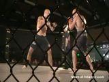 Bad Broken Leg In Cagefight