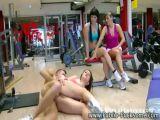 Busty Amateur Fucking In Gym