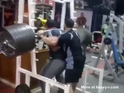 Impressive Weight Lifting