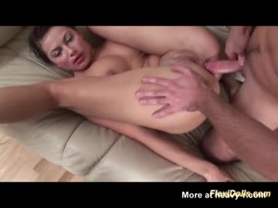 Anal Sex With A Real Flexi Teen Doll