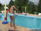 Pool Muscle Men Sex