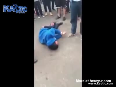 Student Suffers Seizure During Fight Outside School