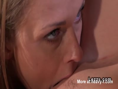 Lesbians Licking Action In Painting Studio