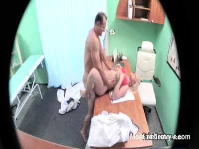 Chubby Nurse Fucked By Doctor