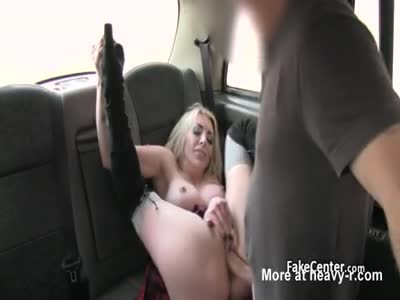 Slut Gets Analed And Facialed In Taxi