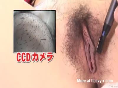 Japanese Pubic Hair Shaving