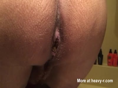 Wife taking a poop