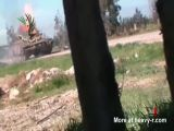 Grenade Burns Out Tank