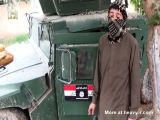 Suicide Bomber In Armored Car