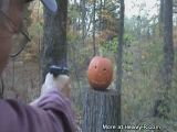 Redneck Pumpkin Carving