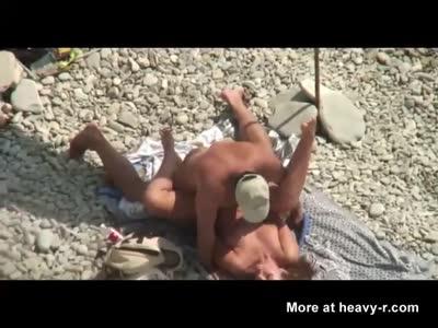 Fucking A Cuckold Bitch At The Beach