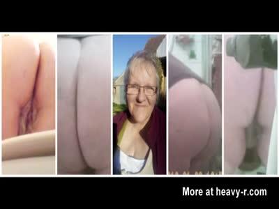 Granny Taking A Piss
