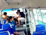 South American Girl Fucked In School bus