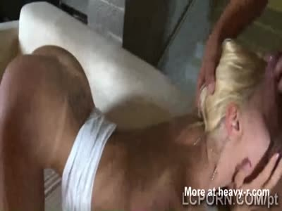 Gorgeous blonde prostitute from Portugal blows a hard meat