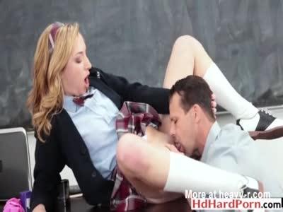 Groping Highschool Girls In Classroom