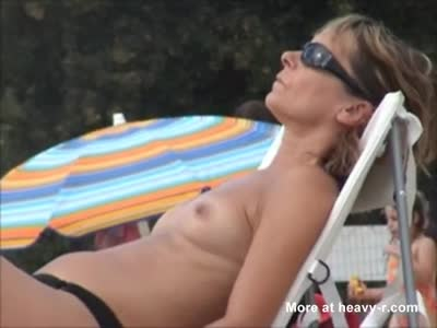Mature French Women Topless