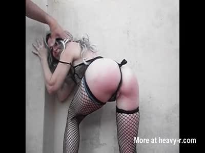 Kicking her Ass