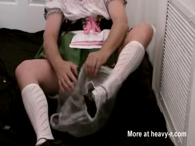 Diapered Sissybaby Beerwench Wetting Diapers