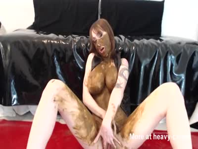 Orgasm Covered In Poop And Cum