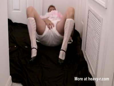 diapered sissybaby beerwench locked in chastity