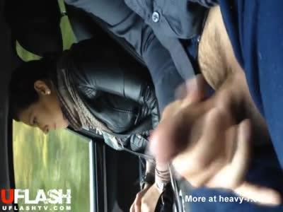 Cumshot For Hitchhiker