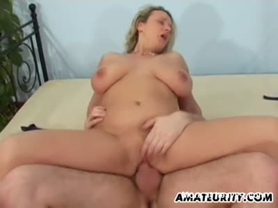 Busty Mom Fucked And Facialed