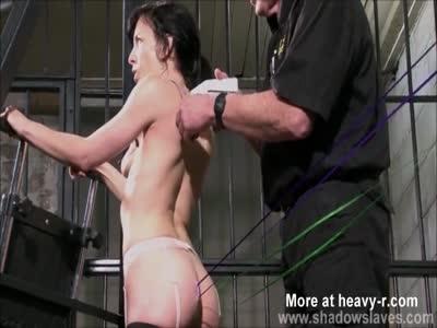 Slave Receives Needle Punishment