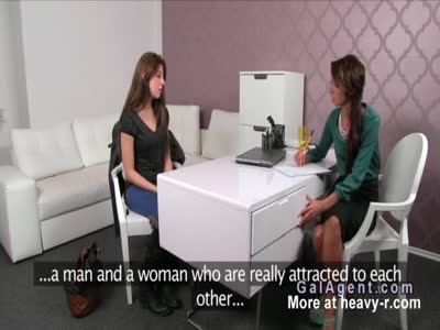 Amateur has lesbo experience in casting