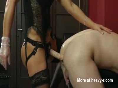 Strapon Anal Punishment