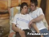 Gay Ass Creampie and Felched