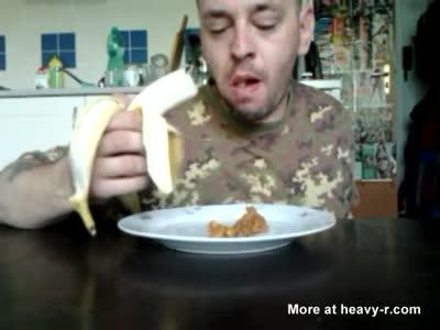 Peter-banán v čokoláde