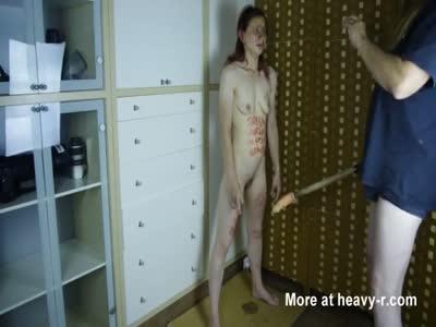 Humiliating Young Girl