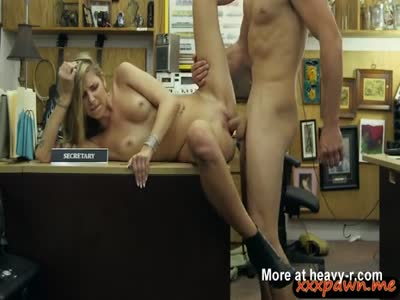 Small Tit Blonde Fucked By Pawn Dude