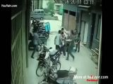 Guys Rescue A Baby Falling From Flat