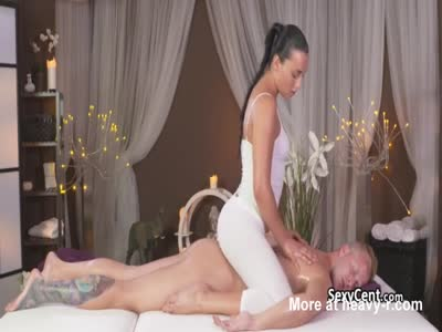 Rough Massage For Lucky Dude