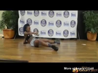 Dancing Slut Sets Her Pussy On Fire
