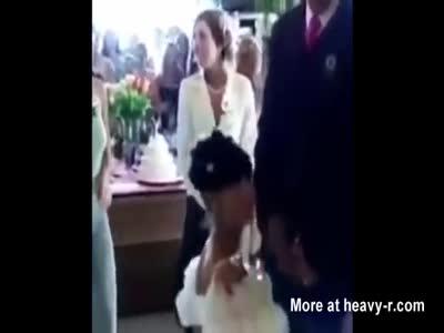 Blowjob At The Altar