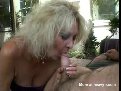 Old Cougar Blowjob